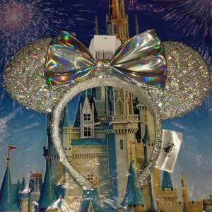 Disney Parks Ears Magic Mirror Metallic Headband